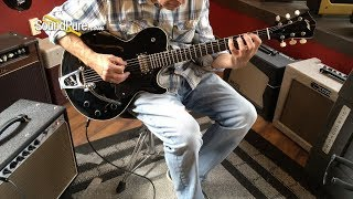 Collings Statesman LC Jet Black with LollarTron Pickups