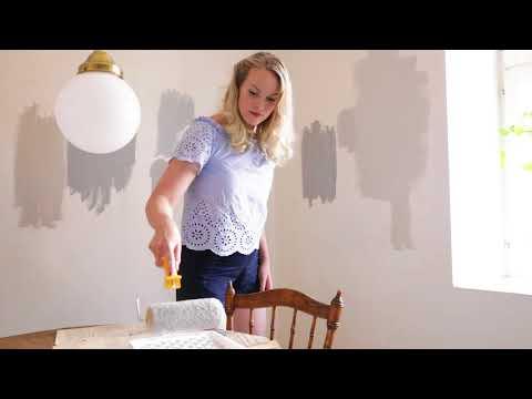 Emma Sundh målar om köket