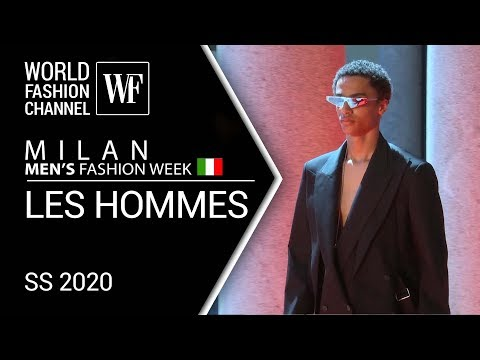 LES HOMMES | SPRING-SUMMER 2020 MILAN MEN'S FASHION WEEK