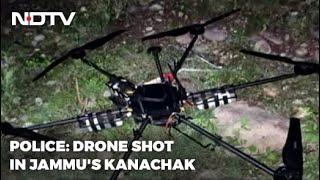 Drone Shot Down 6 km Inside Indian Border, 5 kg Explosives Found: Cops - NDTV