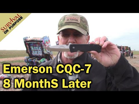 Emerson Knives CQC 7 Follow Up From The Cadillac Ranch - Sharp Saturday