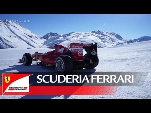 Passeggiata sulla neve - La Scuderia Ferrari a Livigno