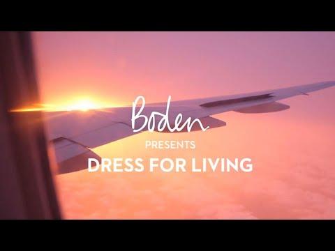 boden.co.uk & Boden Discount Code video: Boden SS19 Lookbook : Dress for Living