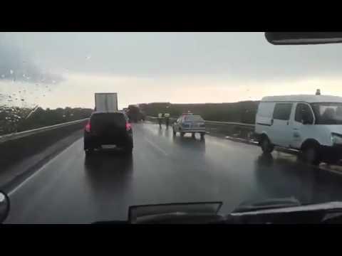 Страшная авария Газель Фура 5 07 2016 Россия Трасса Томск