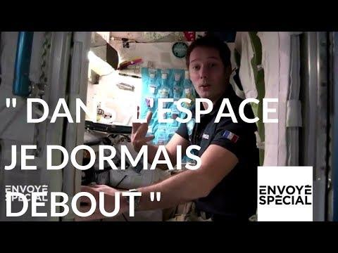 nouvel ordre mondial | Envoyé spécial. Dans l'espace Thomas Pesquet dormait debout - 21 décembre 2017 (France 2)