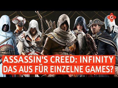 Assassin's Creed: Infinity: Live-Service-Plattform geplant? Nintendo Switch: Neues Modell! | GW-NEWS