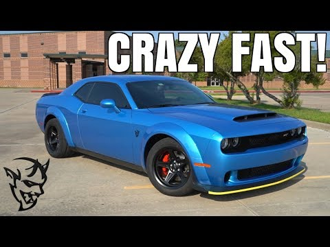 2018 Dodge Demon Review (HOW IS THIS LEGAL?!)