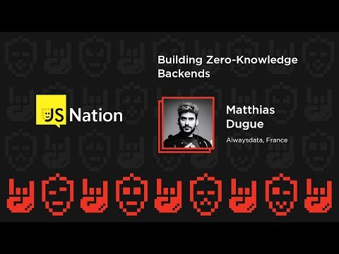 Building Zero-Knowledge Backends – Matthias Dugue