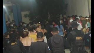 78 capturados por incumplir la Ley Seca en Zacapa