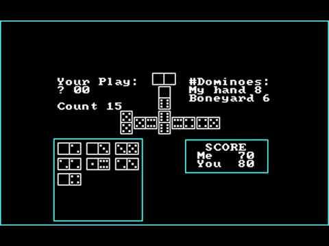 Mack's Domino Parlor (B. J. Ball) (MS-DOS) [1984]