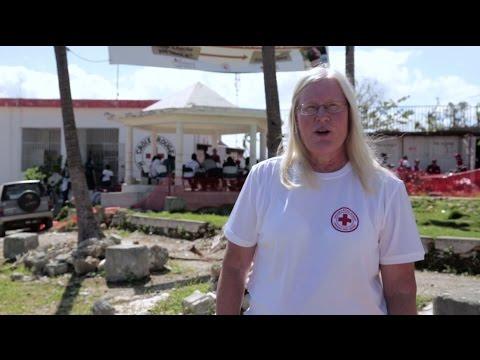 Vi hjälper på Haiti