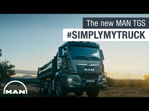The new MAN TGS #SimplyMyTruck | MAN Truck & Bus