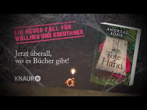 """Trailer """"Tote Hand"""" von Andreas Föhr"""