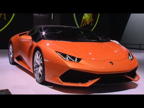 Huraca?n LP 610 4 Spyder: IAA 2015 Highlights