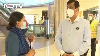 Malls Tackle Overcrowding As Delhi Unlocks Amid Pandemic - NDTV