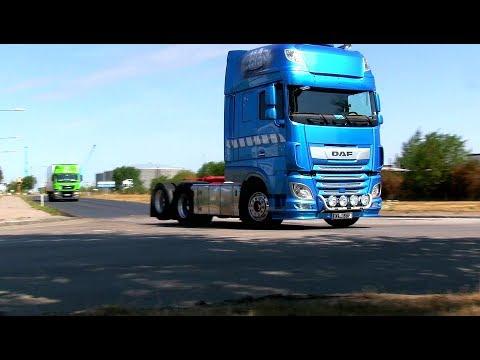 DAF Trucks - VOLVO & IVECO Trailers V8 Sound