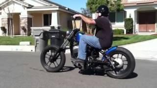 Honda Shadow Bobber - YouTube