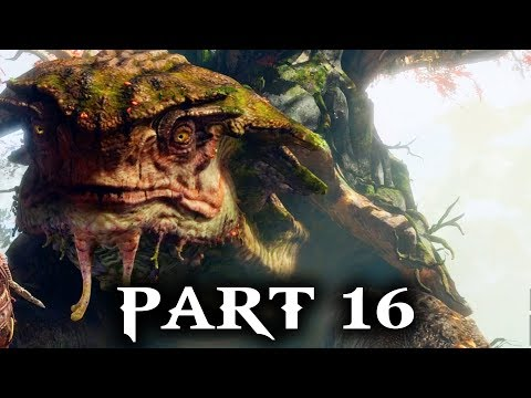 God of War Gameplay Walkthrough Part 16 - THE WITCH (PS4 2018)