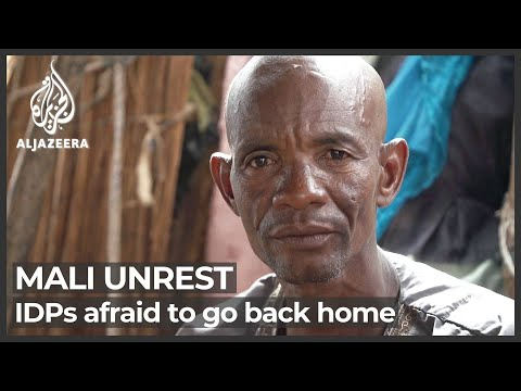 Mali unrest: Displaced people afraid to go back home photo