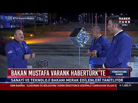 Bakan Varank Habertürk TV'de soruları yanıtlıyor… #YAYINDA