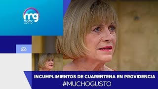 Alcaldesa Matthei analiza incumplimientos de cuarentenas - Mucho Gusto 2020
