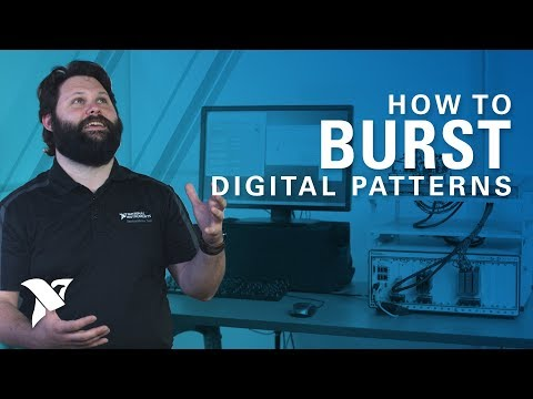 Programmatically Bursting Digital Patterns with LabVIEW and PXI Digital Pattern Instrument