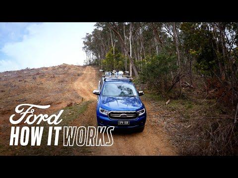 Cum se utilizează Sistemul de control la coborârea unei pante | Ford Ranger | Ford Romania