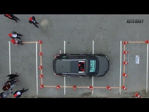 Đỗ xe song song chỉ bằng camera 360 trên Nissan X-Trail