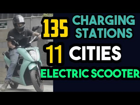 Ather 450X Electric Scooters 11 Cities & Charging Stations