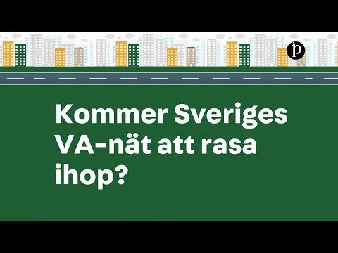 Håller Sveriges VA-nät på att rasa ihop?