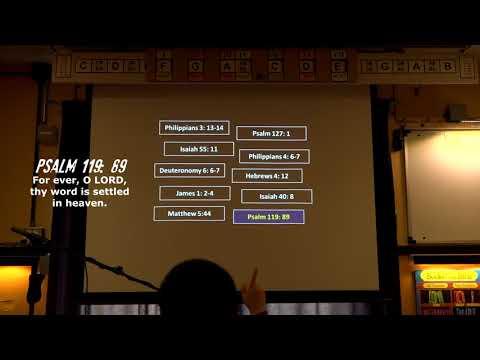 Bible Verse Memorization - 10 Verses - Test #2