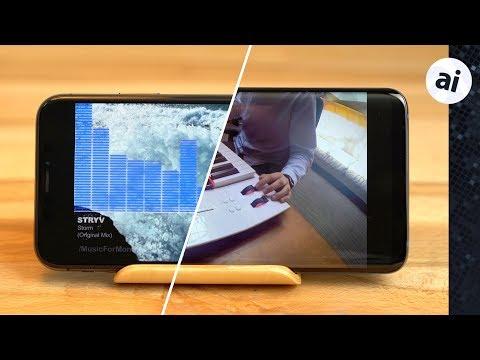 S9 Plus vs iPhone X - Stereo Speaker Comparison
