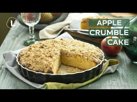 Apple Crumble Cake | Food Channel L Recipes