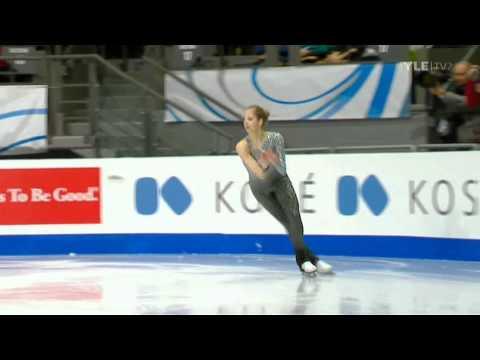 Carolina Kostner - Free Program - ISU Grand Prix GP 2011 - Quebec City Canada