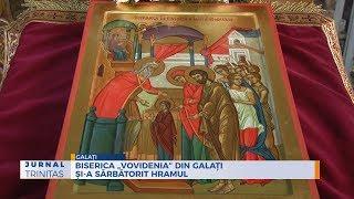 """Biserica """"Vovidenia"""" din Galati si-a sarbatorit hramul"""