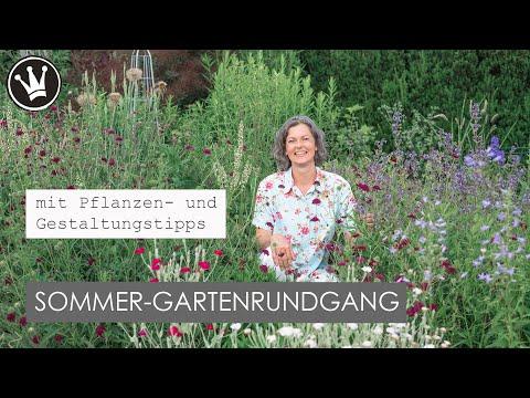 GARTENRUNDGANG  in meinem SOMMERGARTEN | mit vielen Pflanzen- und Gestaltungstipps | DekoideenReich