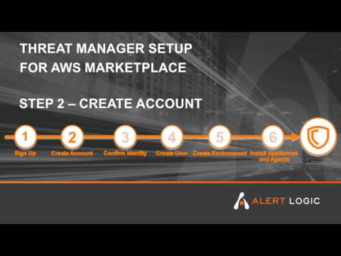 Alert Logic Threat Manager Plus ActiveWatch for AWS Marketplace - Step 2