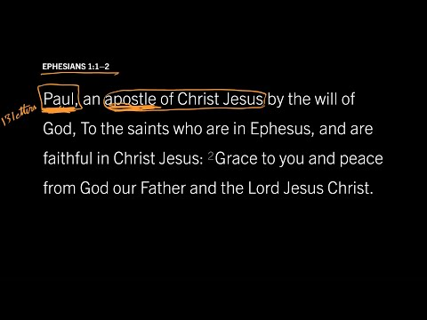 Ephesians 1:1–2 // Part 1 // Who Was This Man Named Paul?