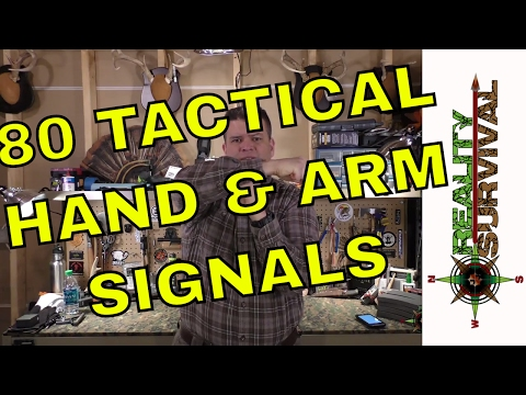 80 Tactical Hand & Arms Signals