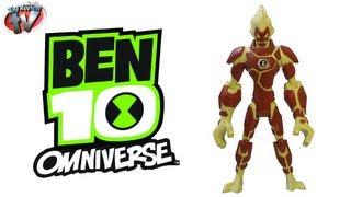 Ben 10 Omniverse Heatblast Action Figure Toy Review, Bandai