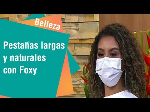 Pestañas largas y naturales con técnica Foxy | Belleza