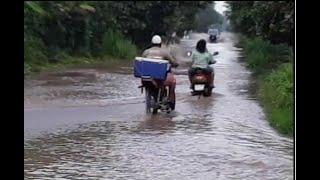 Lluvias ocasionan inundaciones en Escuintla y Amatitlán