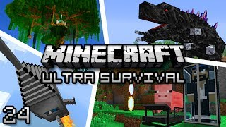 Minecraft: Ultra Modded Survival Ep. 24 - ENDER TRANSMISSION