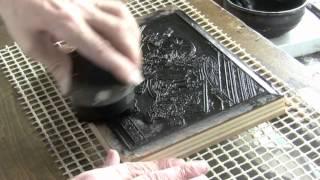 Rickshaw print - first printing
