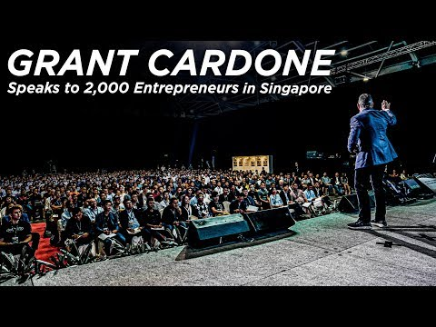 Grant Cardone Visits Singapore to Speak to 2,000 Entrepreneurs photo