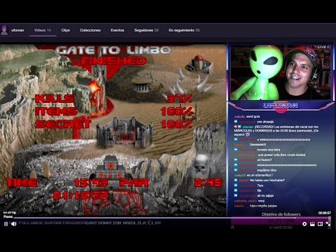 Brutal Doom - Ultimate DOOM (Inferno) | DIRECTO | Objetivo: 35 followers