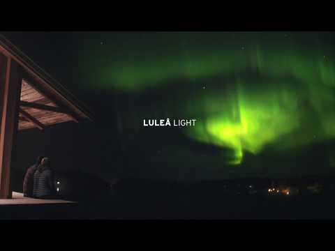 Amazing northern lights in Luleå, Swedish Lapland