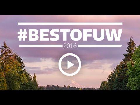 #BestofUW 2016