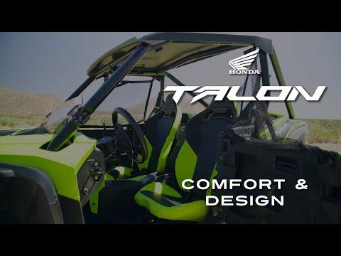 2019 Honda Talon  - Comfort & Design (Sponsored)