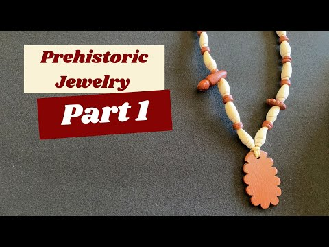 Argillite and Olivella Shell Prehistoric Style Necklace (Part 1 of 2)